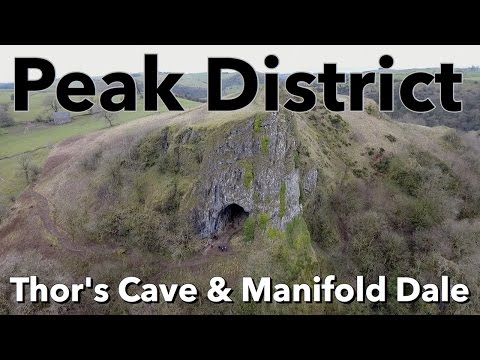 Peak District Walk - Thor's Cave & Manifold Dale