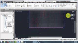Civil 3D chainage ve yükseklik verileri ile bir dosyadan bir profil oluşturma Civil 3D.