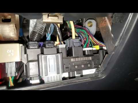 2004 Toyota Matrix Starter and Fuel Pump Relay Location