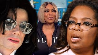 Wendy William's wants to SELL Her Marriage Drama, Oprah Condemns Micheal Jackson for Money & Ratings