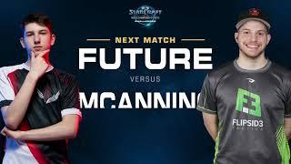Future vs MCanning TvP – Group A – WCS Challenger NA Season 3 - StarCraft II
