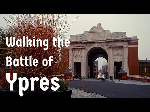 Walking the Battle of Ypres