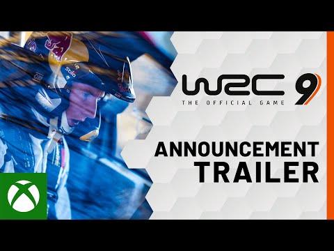 WRC 9 Announcement Trailer