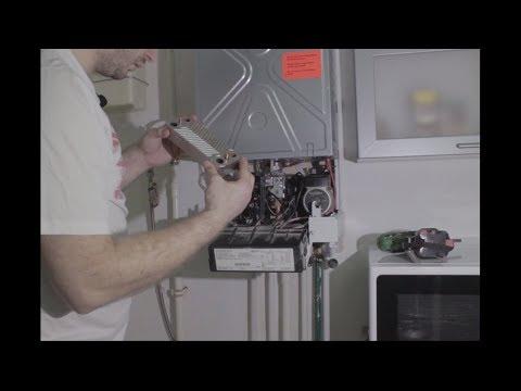 Чистка теплообменника газового котла viessmann vitopend 100 своими руками