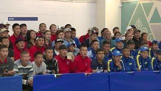 Новый спортивный комплекс открылся к Играм народов Якутии в Амгинском районе