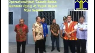 Operasionalisasi Cabang Rutan Gunungsitoli di Tanjung Dalam, Nias Selatan