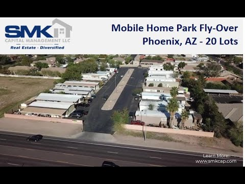 20 Lot Mobile Home Park Investment Fly-Over - Phoenix AZ