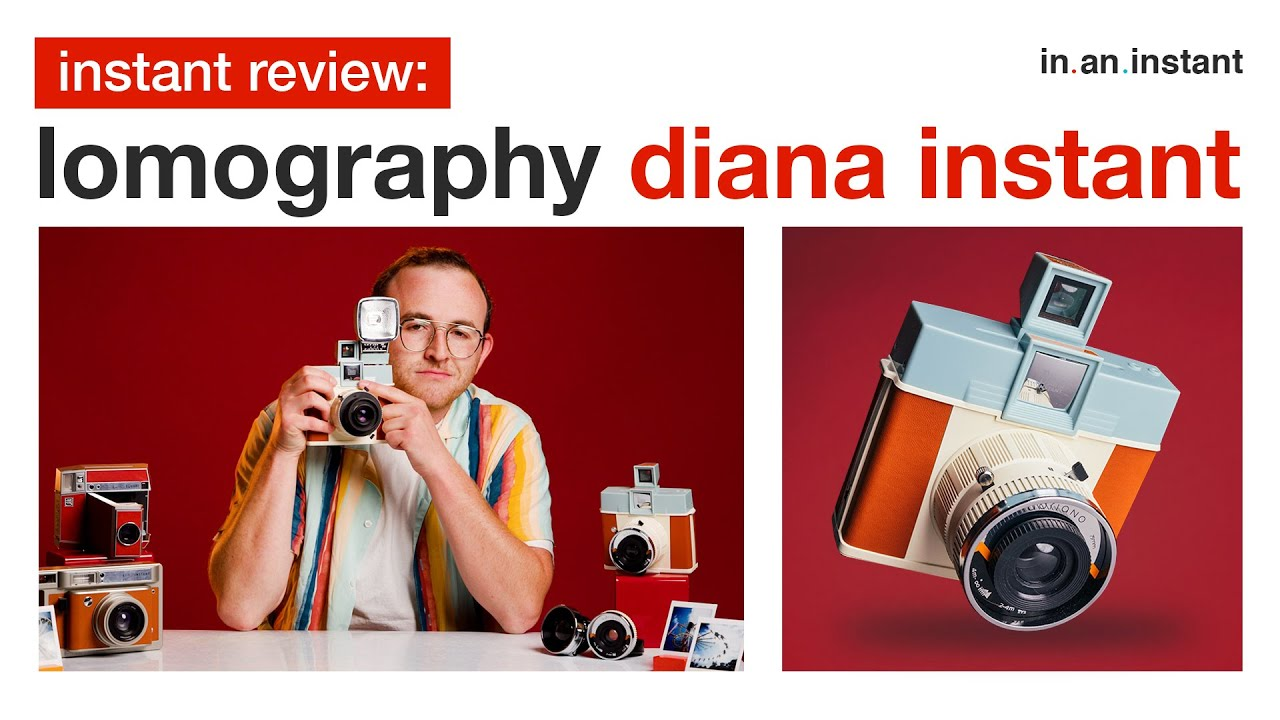 Lomography Diana Instant - An Instax Square Blast (From The Past) [Instant Review]