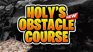 Fortnite Obstacle Course Challenge (Free Shoutout) #ChronicHolyChallenge