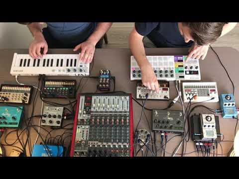 Volca Synthwave & Dub & House Jam (2019-04-21)