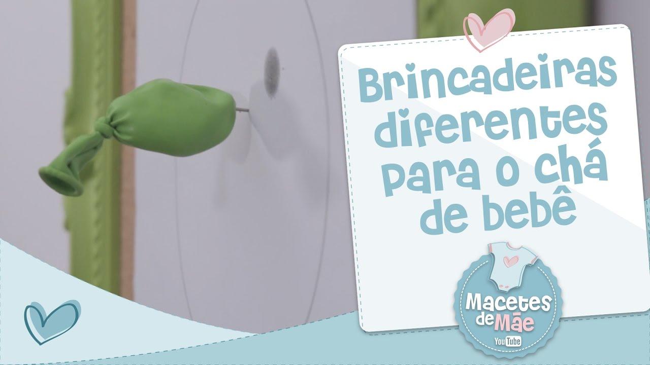 Conhecido MAIS BRINCADEIRAS DIFERENTES PARA CHÁ DE BEBÊ - MACETES DE MÃE  SM49