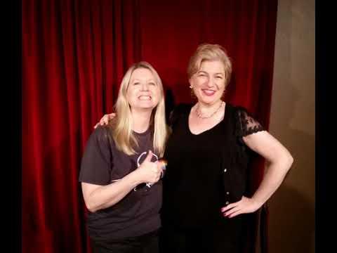 Shazza's Laughter Hour RNB 88.7 [ 90.3FM rnb org au Guest Comedian Jackie Loeb!