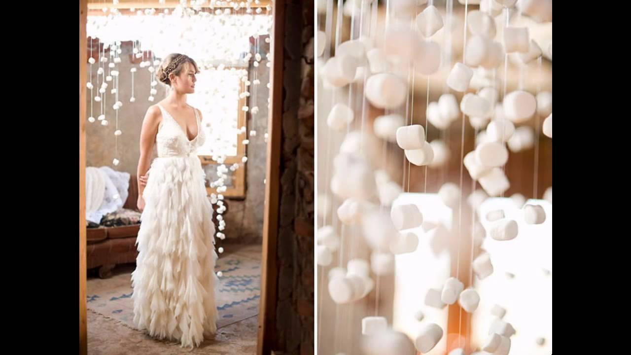 Diy winter themed wedding decorations youtube junglespirit Gallery