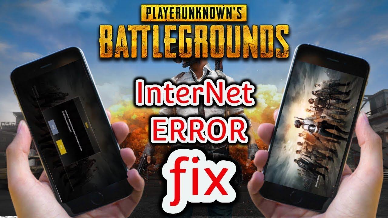 PUBG Internet Error 100% Fix