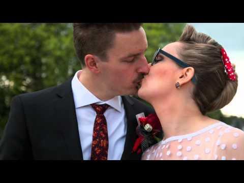 Rockabilly wedding Neil & Solveigh 4-9-2015