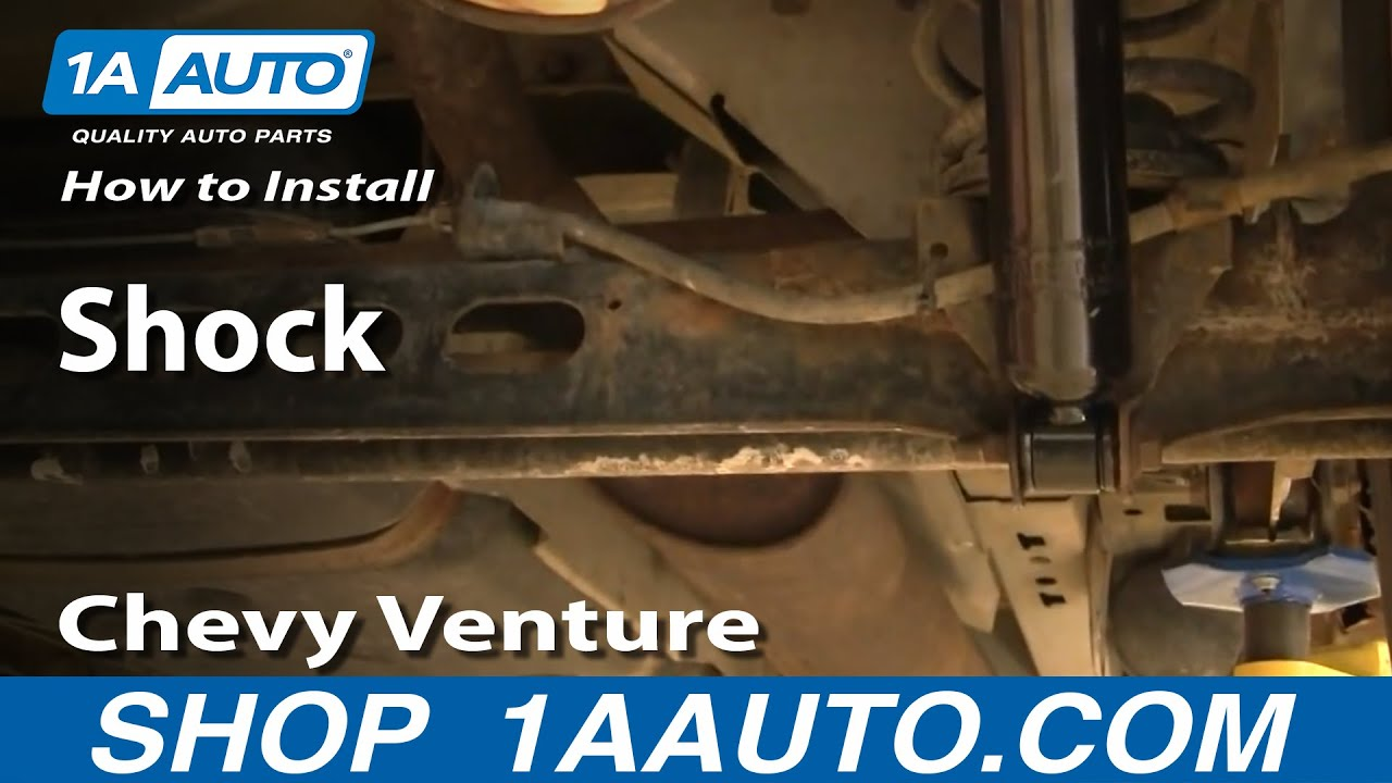 hight resolution of how to replace shock absorber 97 05 chevy venture
