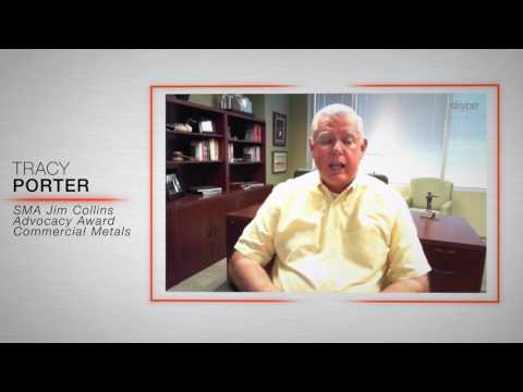 Tracy Porter, Commercial Metals Company, SMA Steel Advocacy Award Nomination Video - 2017