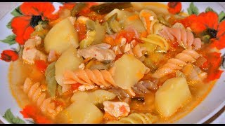 Аля лагман в мультиварке. Супер вкусно!!! Lagman in a slow cooker. Super tasty !!
