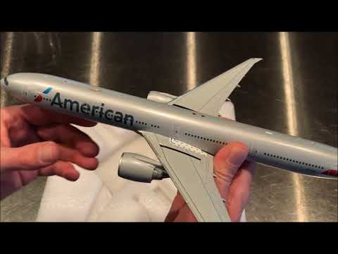 Gemini 200 1:200 American Airlines 777-300(ER), N719AN, Unboxing And Review