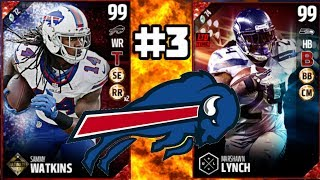 GOLDEN TICKET SAMMY WATKINS DEBUT! BUILDING BILLS EP 3 MUT 17 SQUAD BUILDER