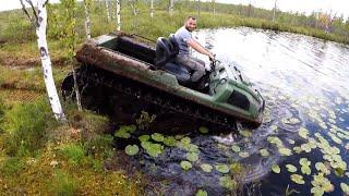 ТОПИМ вездеходы Тингер в озере...