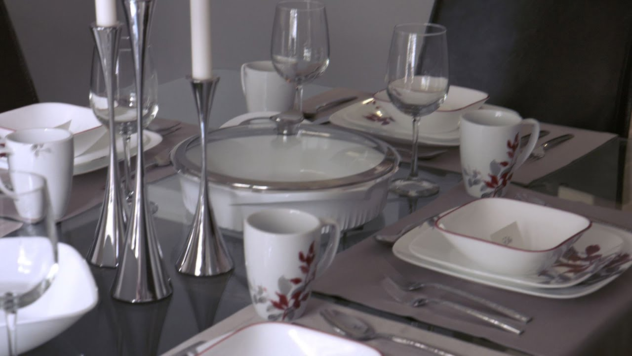 World Kitchen Provides Dinnerware For The Travis Family & World Kitchen Provides Dinnerware For The Travis Family - YouTube