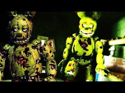 3D SPRINGTRAP ATTACKS! | The Shift at Fazbear's Fright (FNAF 3 IN 3D!)