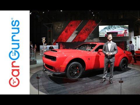 Dodge Demon New York Auto Show YouTube - Dodge car show 2018