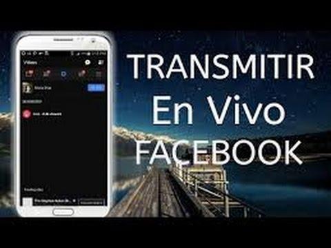 coger facebook transmissao en vivo