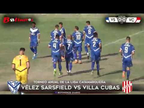 LIGA CATAMARQUEÑA, Vélez Sarsfield vs Villa Cubas
