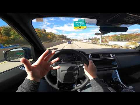 Bad MPG, Awesome Sound! Lots Of Luxury! 2021 Range Rover SVR POV