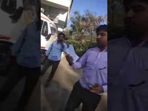 Ambulances guy asking more money in Bangalore
