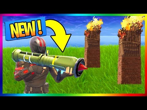 UN NOUVEAU LANCE MISSILE DISPONIBLE DEMAIN EN BATTLE ROYALE !!! // FORTNITE