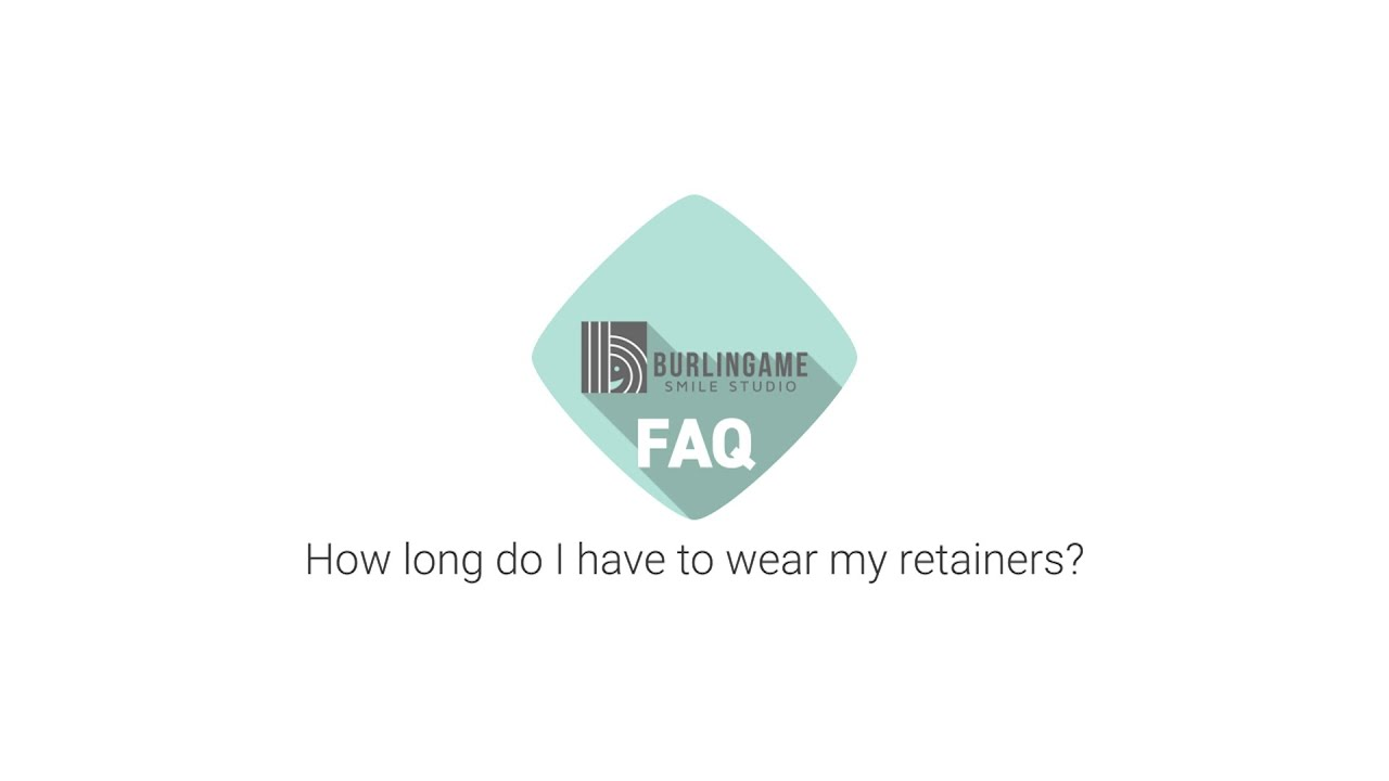 How Long Do I Have to Wear My Retainers - YouTube