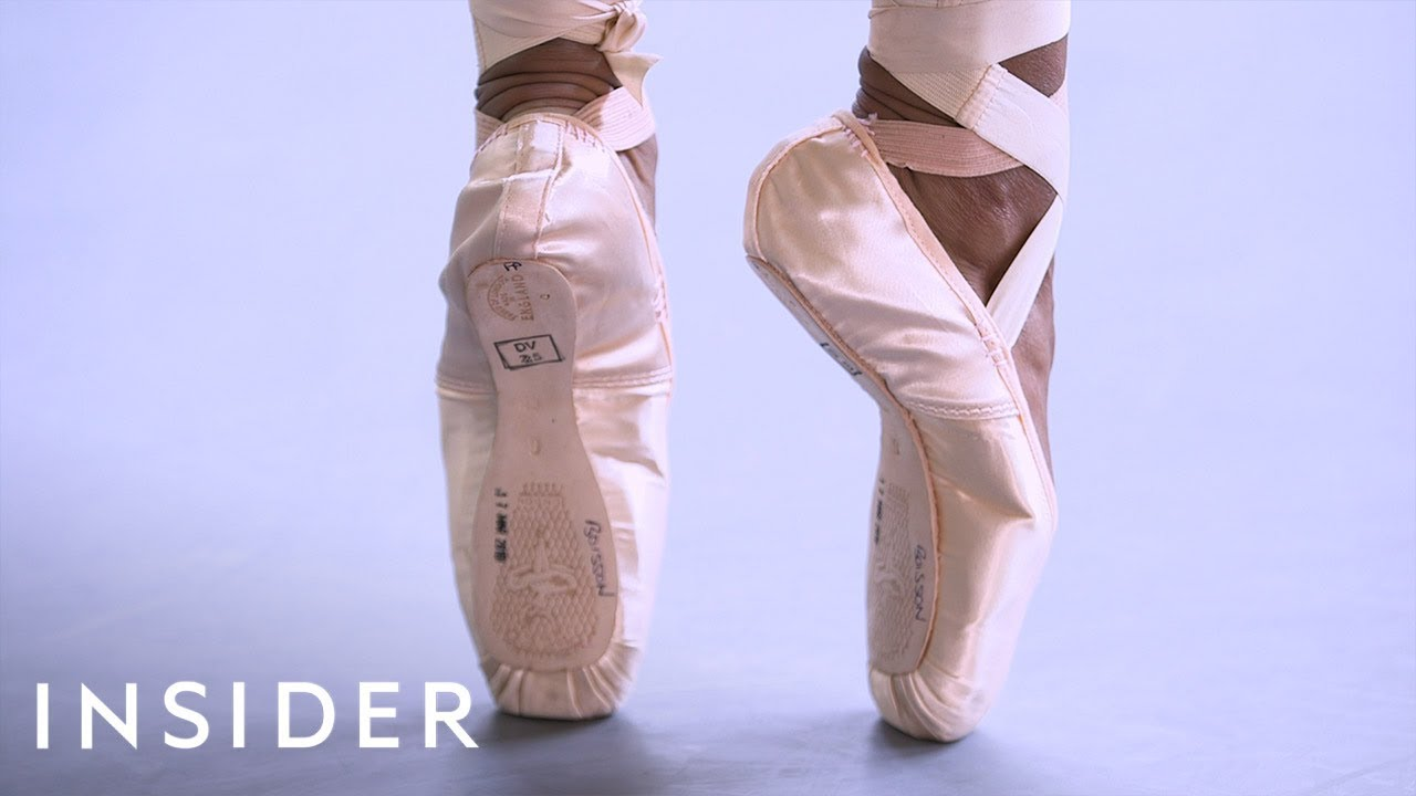 799398593d1f How Ballerinas Customize Their Pointe Shoes - YouTube