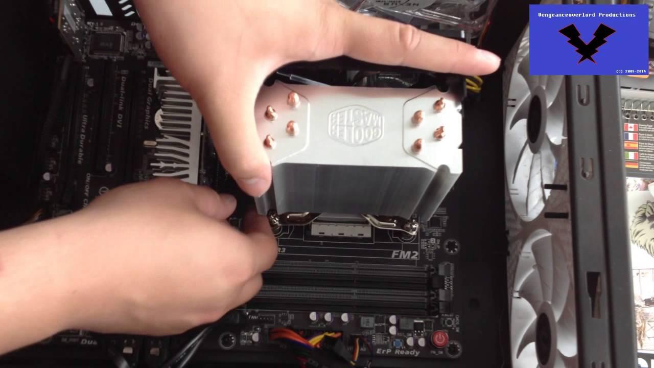 Cooler Master Hyper 212 Evo Installation Guide for AMD FM2 Socket - #152