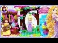 Rapunzel Tiny Diorama Disney Princess Tangled DIY Custom Build Lego Craft Kids Toys