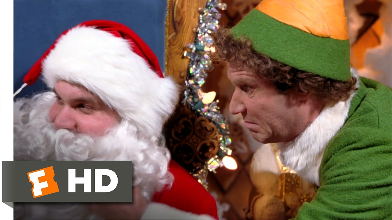 You Sit On A Throne Of Lies Elf 35 Movie Clip 2003 Hd Youtube