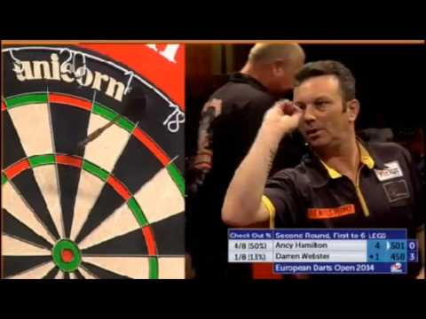 PDC European Darts Open 2014 - Second Round - Andy Hamilton vs. Darren Webster