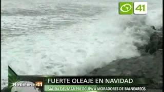 Salida del mar preocupa nuevamente a moradores de balneareos - Trujillo