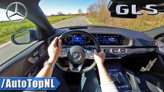 2020 Mercedes Benz GLS 400d POV Test Drive by AutoTopNL