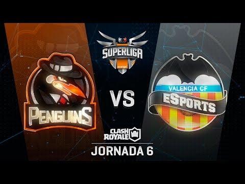SUPERLIGA ORANGE - PENGUINS VS VALENCIA  - Jornada 6 - #SuperligaOrangeCR6