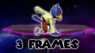 What If Falco Had Fox's Jump Squat? (Modded TAS)
