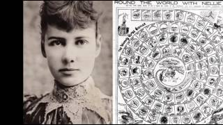 25th January 1890: Nellie Bly circumnavigates the world in 72 days