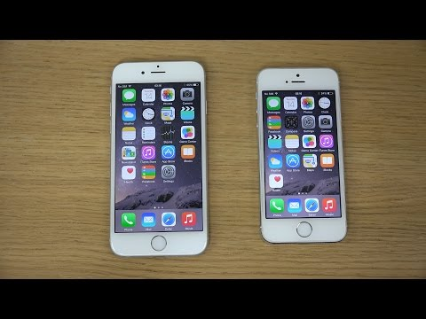 IPhone 6 Vs. IPhone 5S - Review (4K)