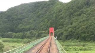 JR北上線 【前面展望 8】 ほっとゆだ⇒ゆだ錦秋湖