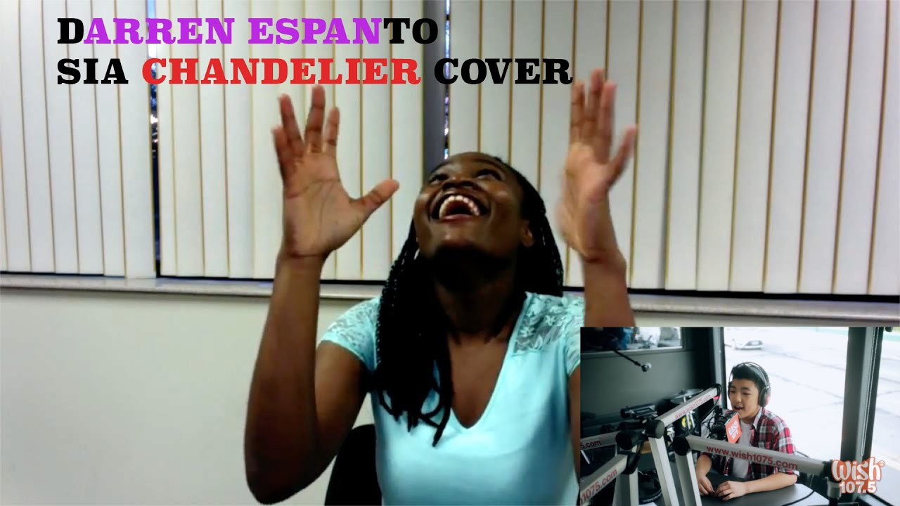 Darren Espanto - Chandelier (Sia) LIVE Cover REACTION - YouTube