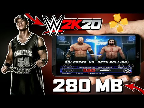 [280 MB] DOWNLOAD WWE 2K20 PPSSPP GAME FOR ANDROID | JUST 280 MB | WORKING IN ALL DEVICES