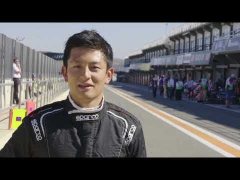 Rio Haryanto - Formula E Test - English Interview