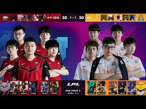 VOD: JD Gaming vs Suning - LPL Spring 2020 - Game 3